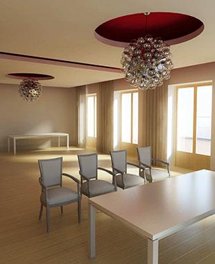 Restructuration et travaux d'accessibilité de la Mairie de Lanslebourg - Equipement – restructuration – rénovation – agencement intérieur – travaux d'accessibilité